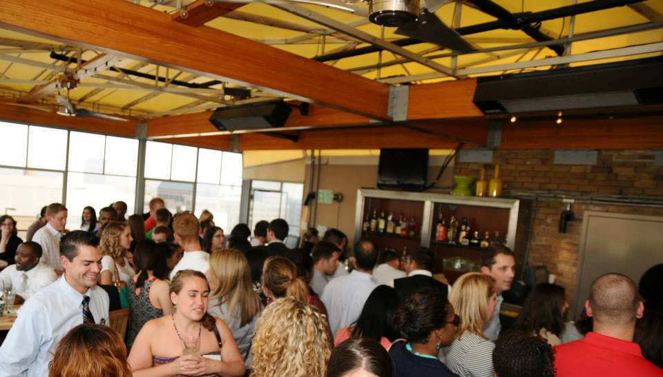 Networking reception tips
